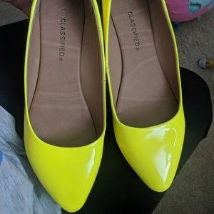 Yellow 6.5 flats